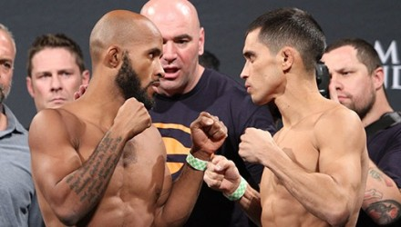 Demetrius Johnson vs. Chris Cariaso UFC 178