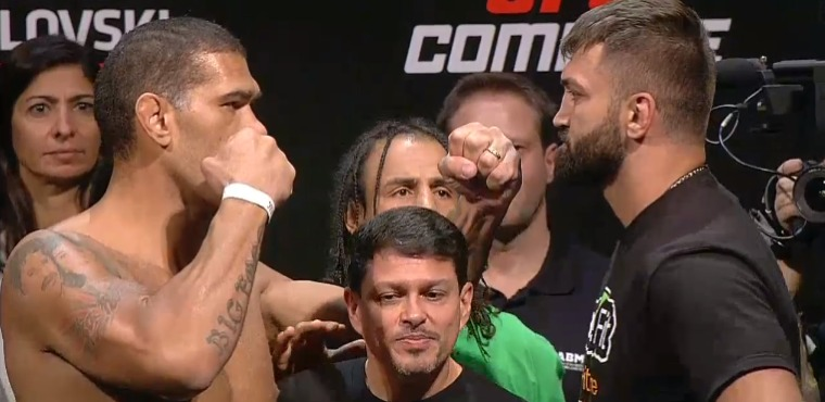 Bigfoot Silva vs Andrei Arlovski 2 weigh