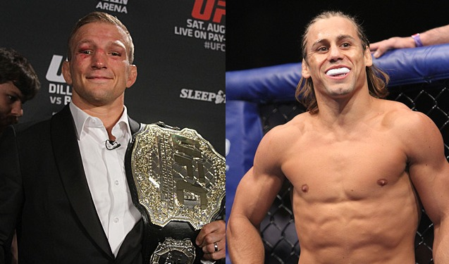 Dillashaw and Faber