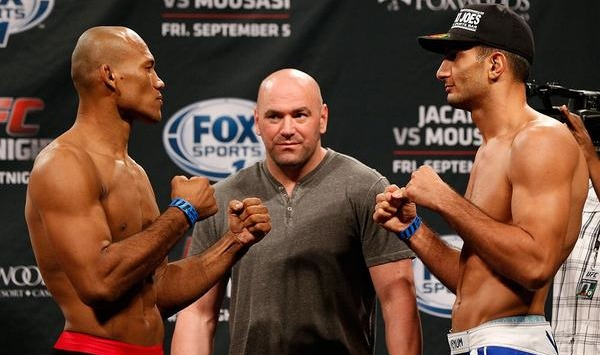 Jacare vs Mousasi