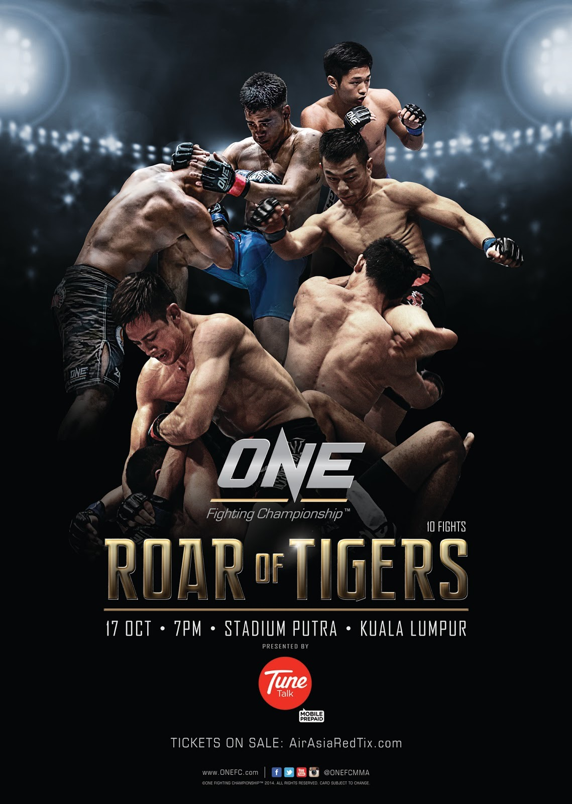 ONE FC Roar of Tigers Poster