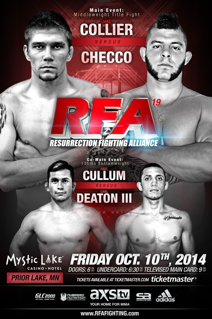 RFA 19 Fight Poster w-Cullum