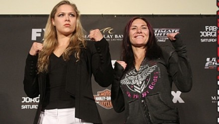 Ronda Rousey and Cat Zingano