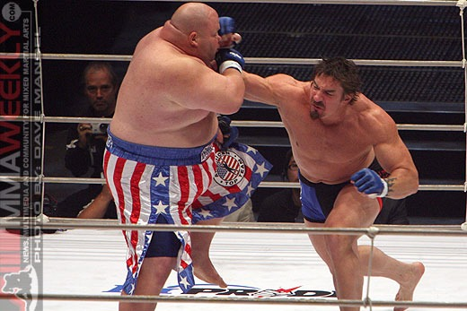 Sean O'Haire vs Butterbean - Pride 32
