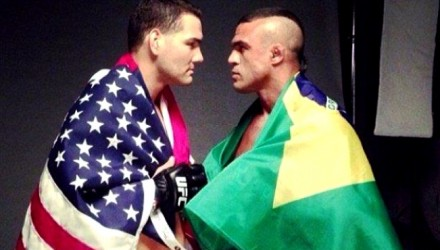 Chris Weidman vs Vitor Belfort