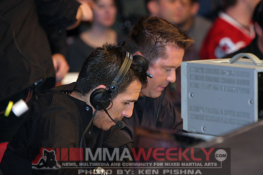 Kenny Florian and Mike Goldberg