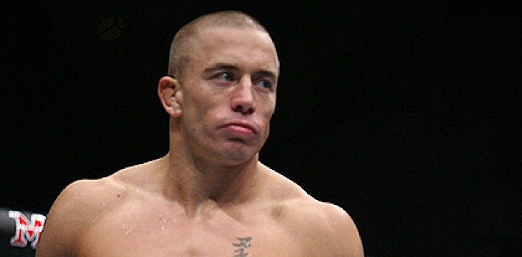 Georges St-Pierre at UFC 58