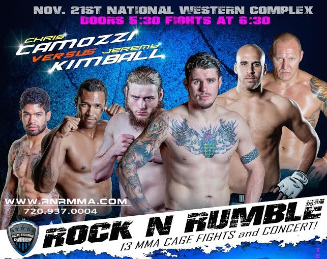 PFC Rock N Rumble POD