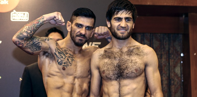 Rob Lisita vs Marat Gafurov weigh-in