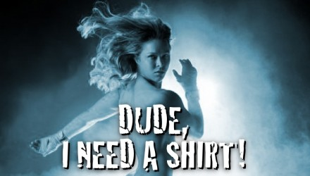 Ronda Rousey - Dude I Need a Shirt