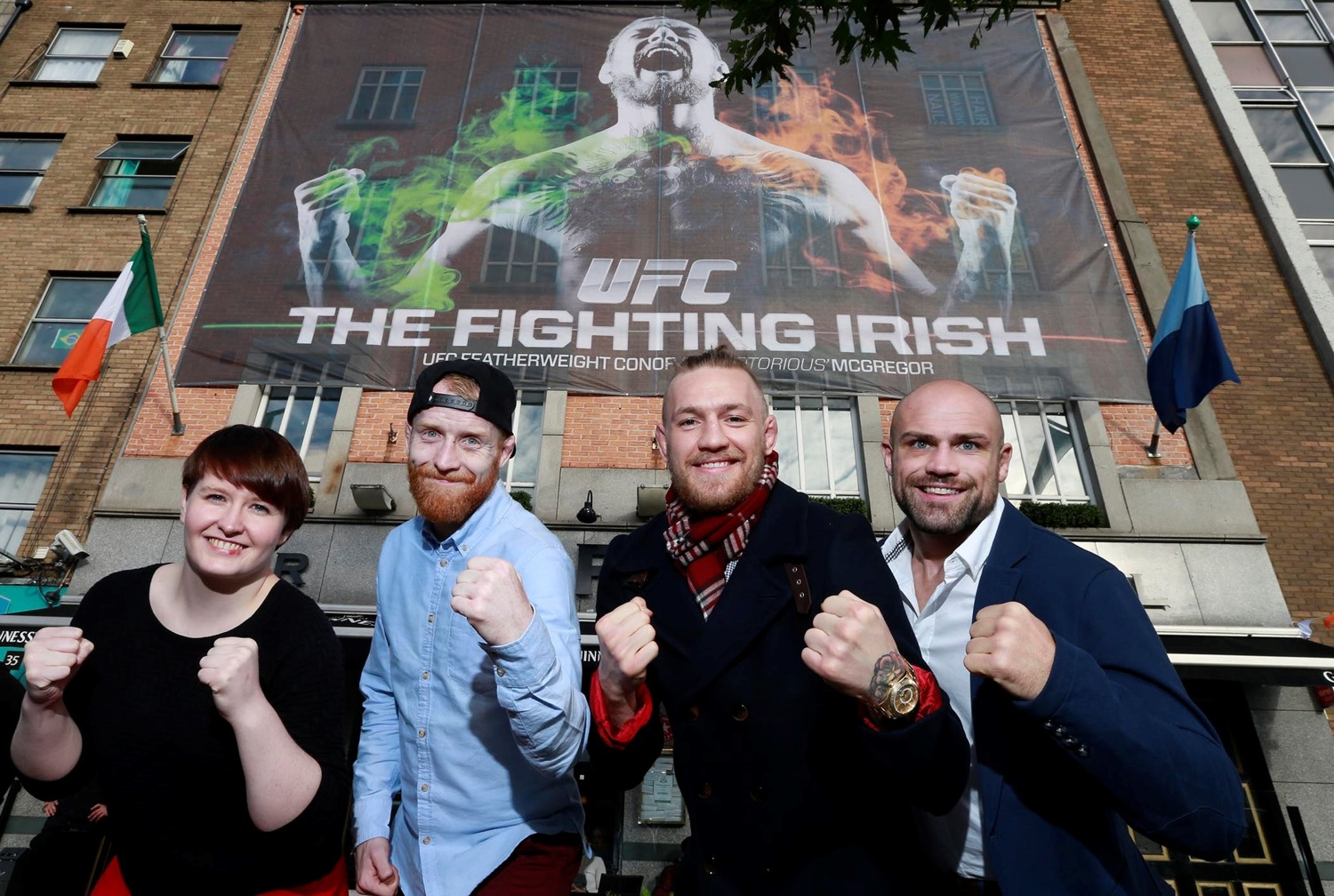 UFC Fighting Irish-Daily, Holohan, McGregor, Pendred