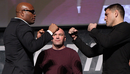 Anderson Silva vs Nick Diaz