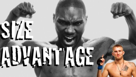 Anthony Johnson Alexander Gustafsson Size Advantage