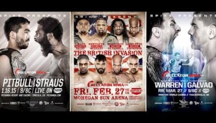 Bellator 2015 First 3 750
