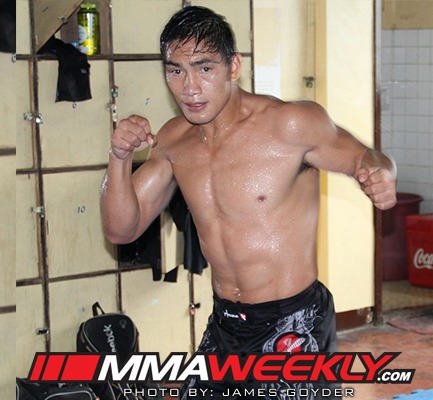 Eduard Folayang for MMA Weekly