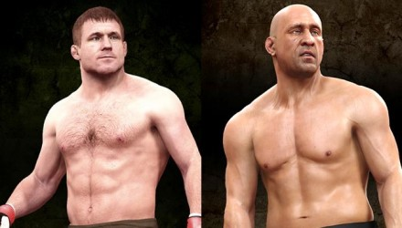 Matt Hughes and Mark Coleman EA Sports UFC