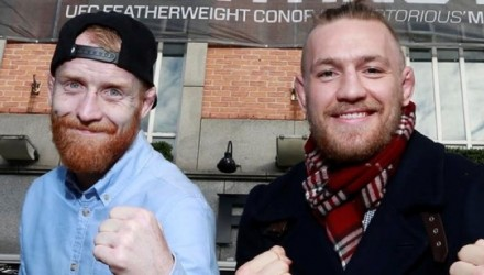 Patrick Holohan and Conor McGregor