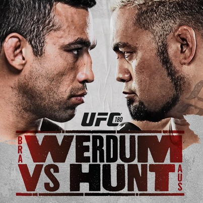 UFC 180 Werdum vs Hunt sq