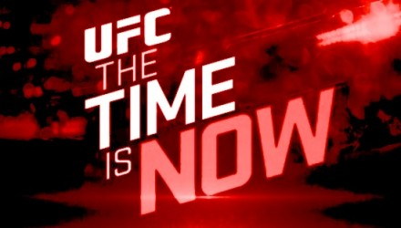 UFC Time is Now Slanted Red 750x370