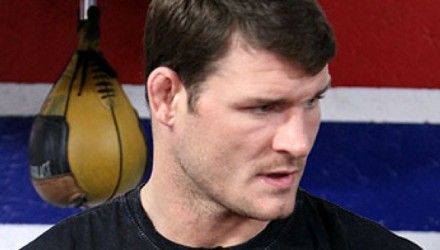 Michael Bisping at the UFC on FOX 2 Open Workouts