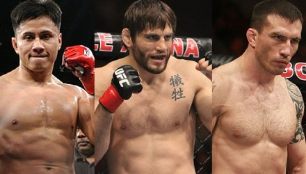 Cung Le - Jon Fitch - Nate Quarry