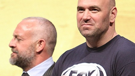Lorenzo Fertitta and Dana White