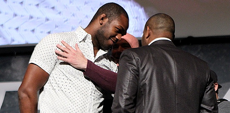 Jon Jones vs Daniel Cormier brawl (fight)