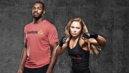 Jon Jones and Ronda Rousey