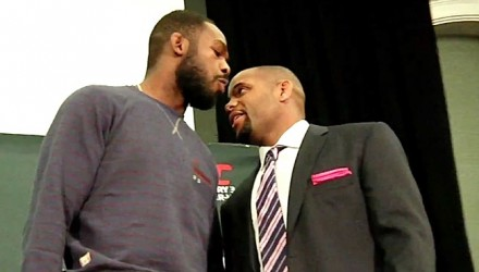 Jon Jones v Daniel Cormier Media Day 750