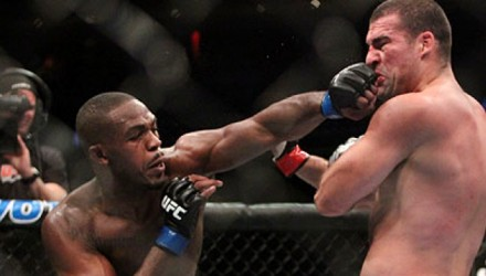 Jon Jones vs Shogun Rua at UFC128