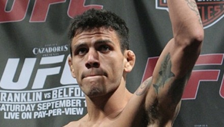 Rafael Dos Anjos at UFC 103 weigh-ins