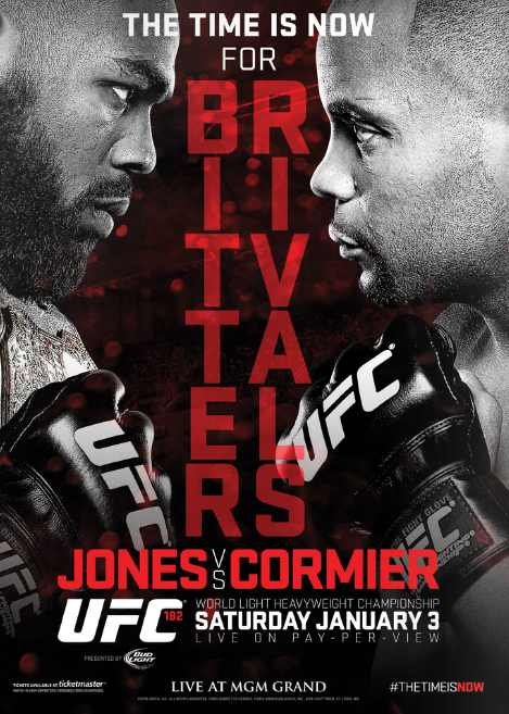 UFC 182 Fight Poster