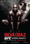 UFC 183 Fight Poster