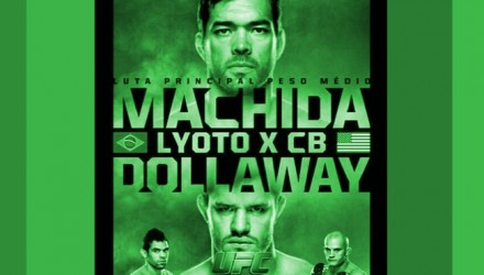 UFC FN 58 Fight Poster Green 750