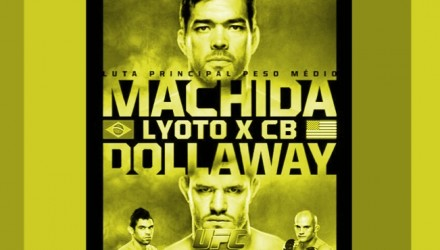 UFC FN 58 Fight Poster Yellow 750