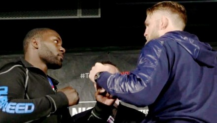 Anthony Johnson vs Alexander Gustafsson