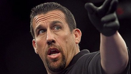 Referee Big John McCarthy