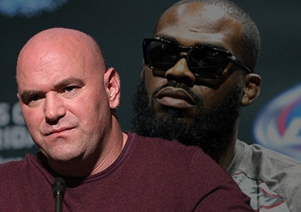 Dana White Serious Over Jon Jones