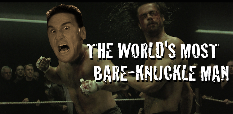 KEN SHAMROCK BARE KNUCKLE