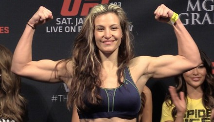 UFC-183-Miesha Tate-weigh-in
