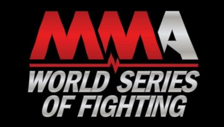 WSOF Logo on Black 750