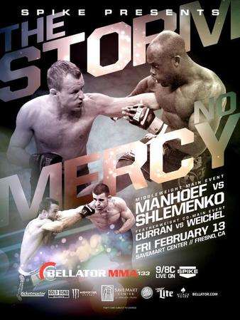 Bellator_133_Shlemenko_vs._Manhoef_Poster