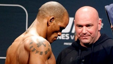 Hector Lombard UFC 182 weigh-in