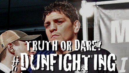 Nick Diaz #dunfighting