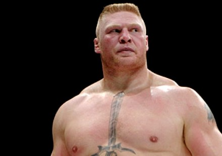 Brock Lesnar at K-1 Dynamite USA