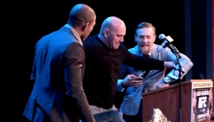 Dana White Separates Aldo and McGregor