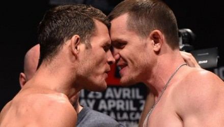Michael Bisping vs CB Dollaway