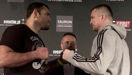 Gonzaga vs Cro Cop MD Faceoff 750