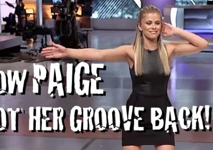 How Paige got her groove back 750