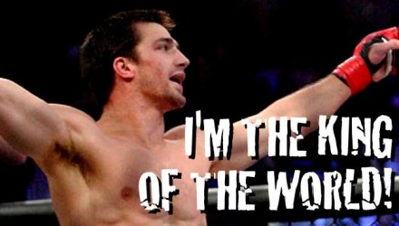 Luke Rockhold King of the World